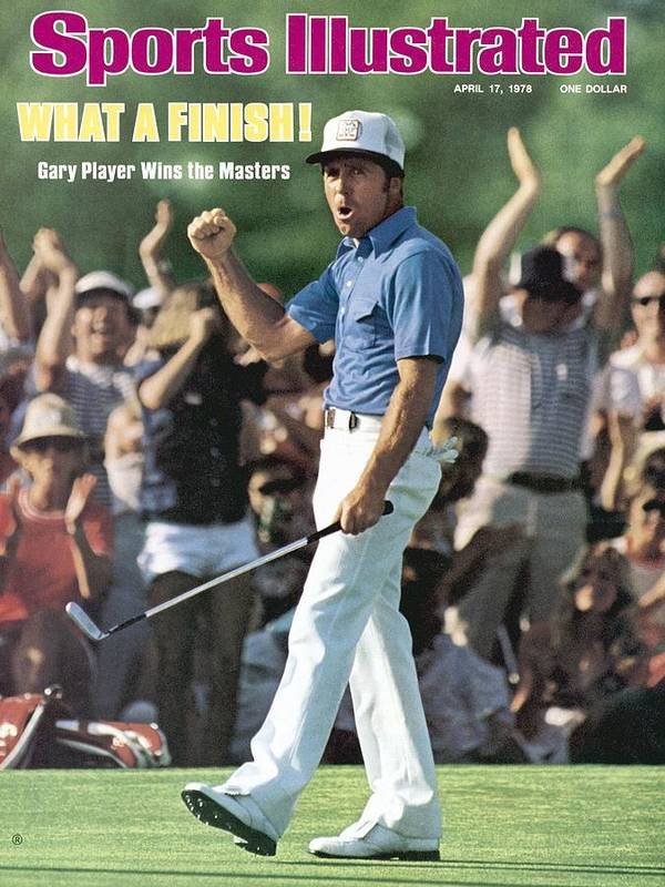 Magazine Cover Art Print featuring the photograph Gary Player, 1978 Masters Sports Illustrated Cover by Sports Illustrated
