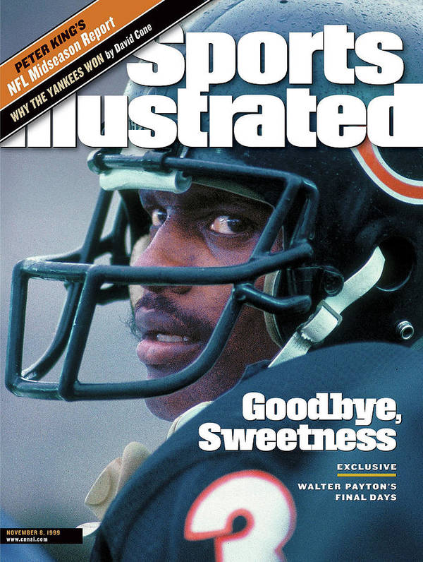 Magazine Cover Art Print featuring the photograph Goodbye, Sweetness Walter Paytons Final Days Sports Illustrated Cover by Sports Illustrated
