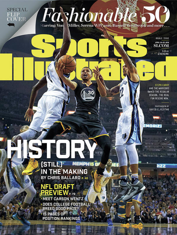 Federal Express Art Print featuring the photograph History still In The Making Sports Illustrated Cover by Sports Illustrated