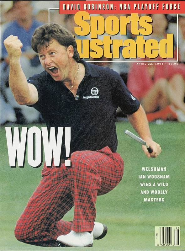 Magazine Cover Art Print featuring the photograph Ian Woosnam, 1991 Masters Sports Illustrated Cover by Sports Illustrated