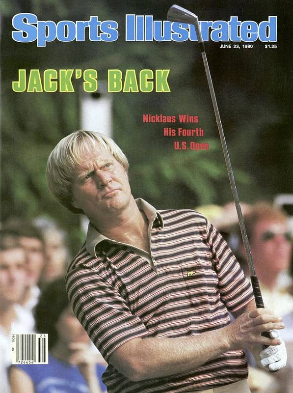 1980-1989 Art Print featuring the photograph Jack Nicklaus, 1980 Us Open Sports Illustrated Cover by Sports Illustrated