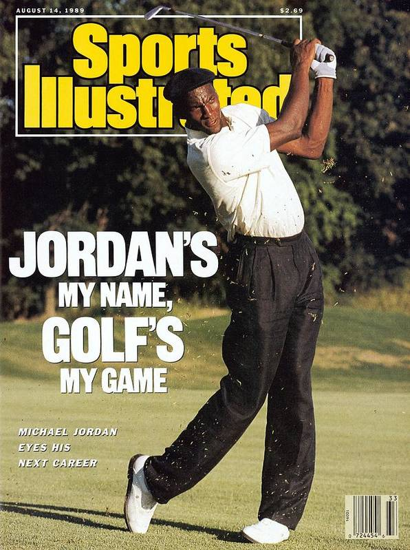 1980-1989 Art Print featuring the photograph Michael Jordan, 1989 St. Jude Classic Sports Illustrated Cover by Sports Illustrated