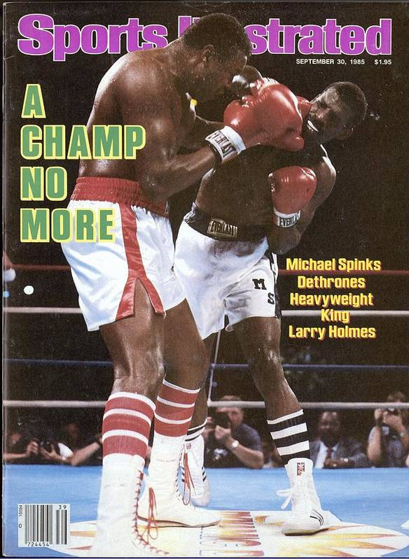 Magazine Cover Art Print featuring the photograph Michael Spinks, 1985 Ibf Heavyweight Title Sports Illustrated Cover by Sports Illustrated