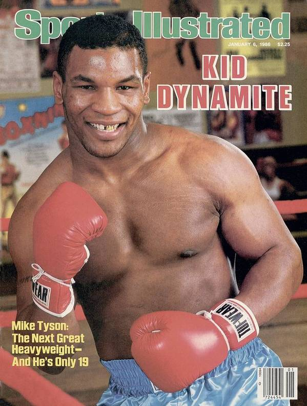 1980-1989 Art Print featuring the photograph Mike Tyson, Heavyweight Boxing Sports Illustrated Cover by Sports Illustrated