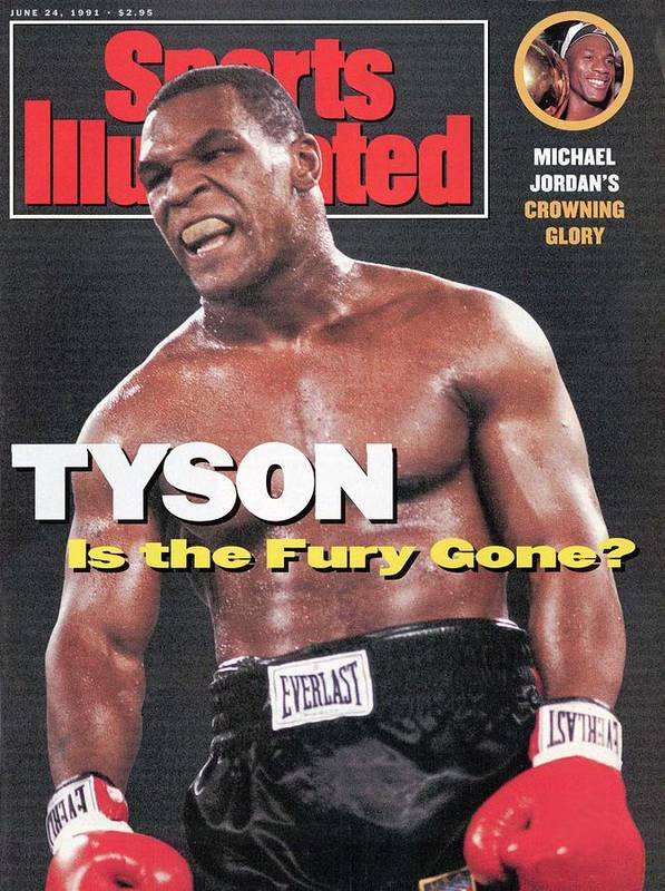 Magazine Cover Art Print featuring the photograph Mike Tyson Is The Fury Gone Sports Illustrated Cover by Sports Illustrated