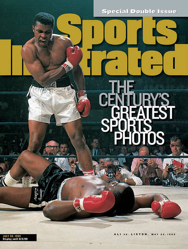 Magazine Cover Art Print featuring the photograph Muhammad Ali, 1965 World Heavyweight Title Sports Illustrated Cover by Sports Illustrated