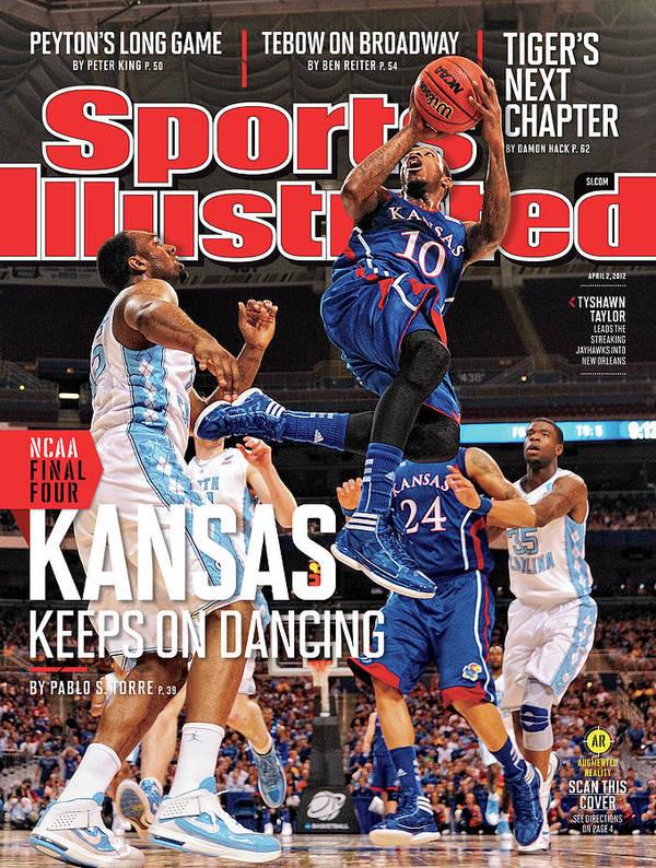Magazine Cover Art Print featuring the photograph Ncaa Basketball Tournament - Regionals - St Louis Sports Illustrated Cover by Sports Illustrated