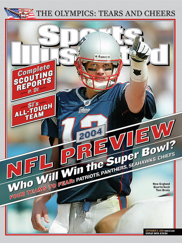 Miami Gardens Art Print featuring the photograph New England Patriots Quarterback Tom Brady, 2013 Nfl Sports Illustrated Cover by Sports Illustrated