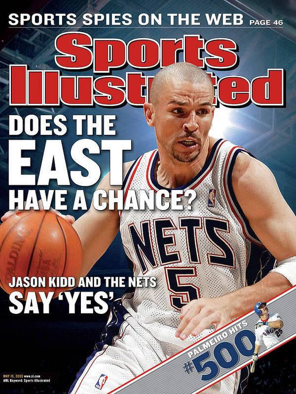 Magazine Cover Art Print featuring the photograph New Jersey Nets Jason Kidd, 2003 Nba Eastern Conference Sports Illustrated Cover by Sports Illustrated