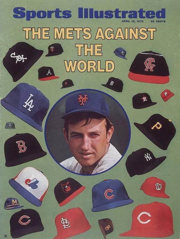 Magazine Cover Art Print featuring the photograph New York Mets Jerry Koosman Sports Illustrated Cover by Sports Illustrated
