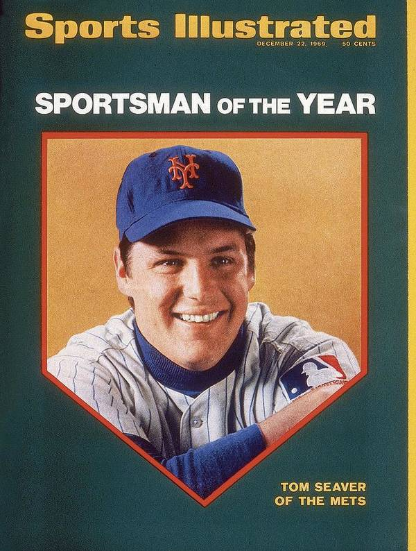 Tom Seaver Art Print featuring the photograph New York Mets Tom Seaver Sports Illustrated Cover by Sports Illustrated