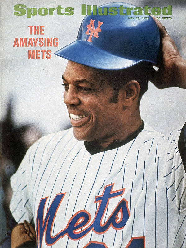 Sports Illustrated Art Print featuring the photograph New York Mets Willie Mays Sports Illustrated Cover by Sports Illustrated