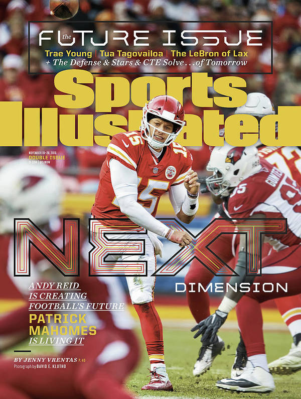 Magazine Cover Art Print featuring the photograph Next Dimension Andy Reid Is Creating Footballs Future Sports Illustrated Cover by Sports Illustrated