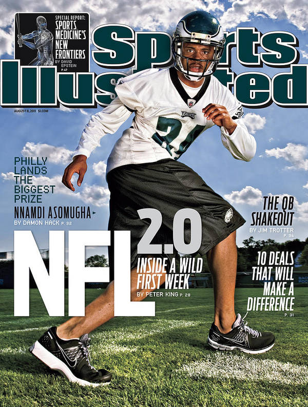 Magazine Cover Art Print featuring the photograph Nfl 2.0 Inside A Wild First Week Sports Illustrated Cover by Sports Illustrated