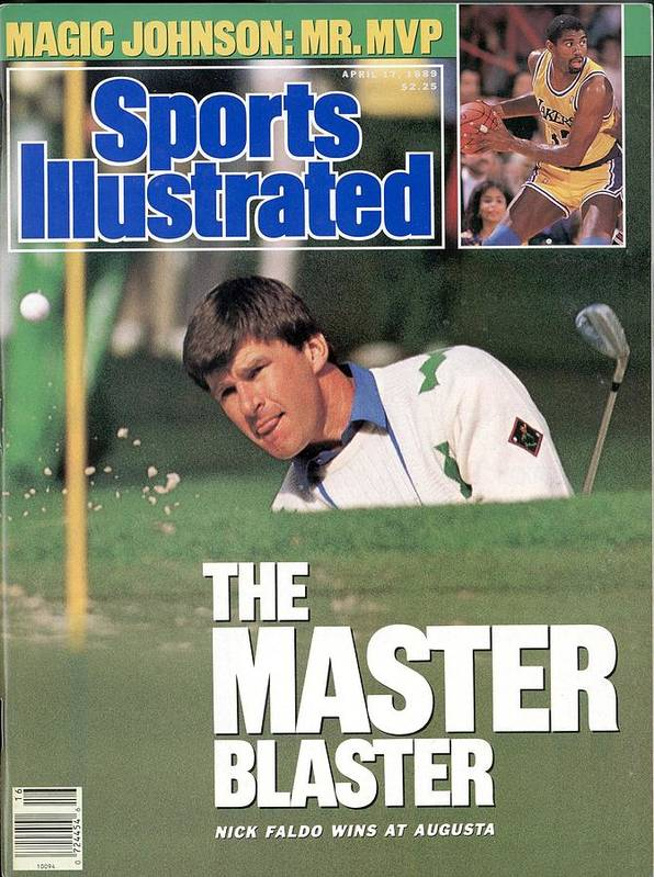 Magazine Cover Art Print featuring the photograph Nick Faldo, 1989 Masters Sports Illustrated Cover by Sports Illustrated