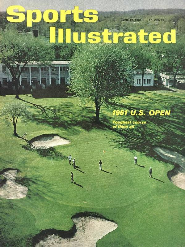 Magazine Cover Art Print featuring the photograph Oakland Hills Country Club Sports Illustrated Cover by Sports Illustrated