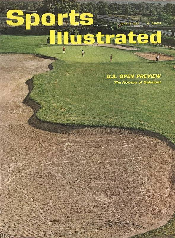 Scenics Art Print featuring the photograph Oakmont Country Club Sports Illustrated Cover by Sports Illustrated