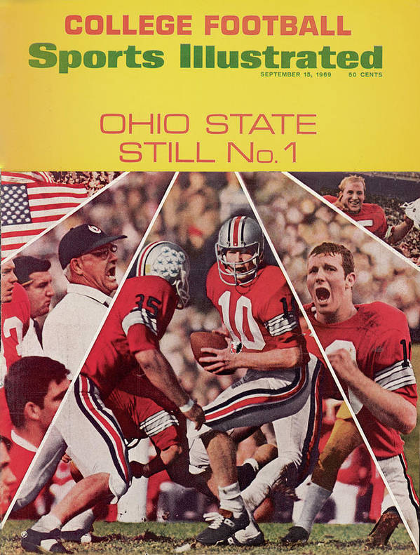 Michigan State University Art Print featuring the photograph Ohio State Still No. 1 Sports Illustrated Cover by Sports Illustrated