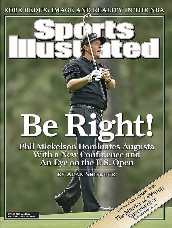 Magazine Cover Art Print featuring the Phil Mickelson, 2006 Masters Sports Illustrated Cover by Sports Illustrated