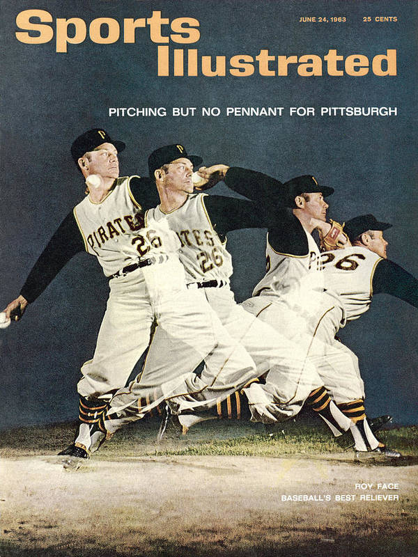 Magazine Cover Art Print featuring the photograph Pittsburgh Pirates Roy Face Sports Illustrated Cover by Sports Illustrated