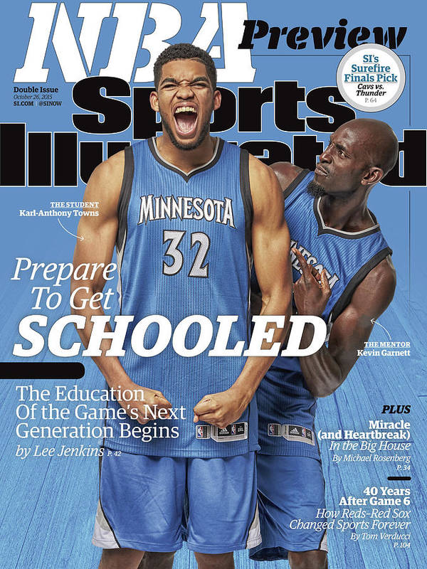 Magazine Cover Art Print featuring the photograph Prepare To Get Schooled, The Education Of The Games Next Sports Illustrated Cover by Sports Illustrated