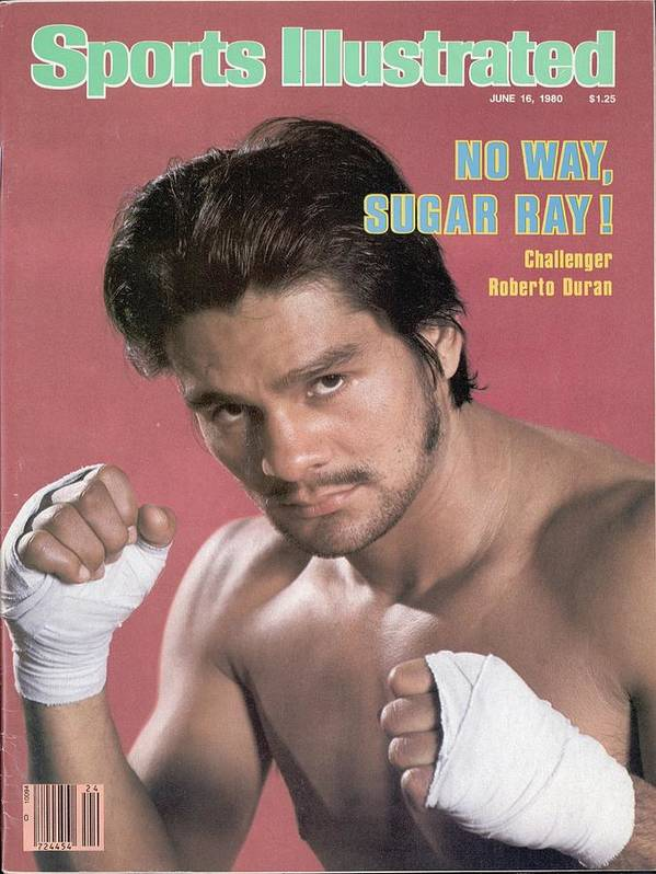 Magazine Cover Art Print featuring the photograph Roberto Duran, Welterweight Boxing Sports Illustrated Cover by Sports Illustrated