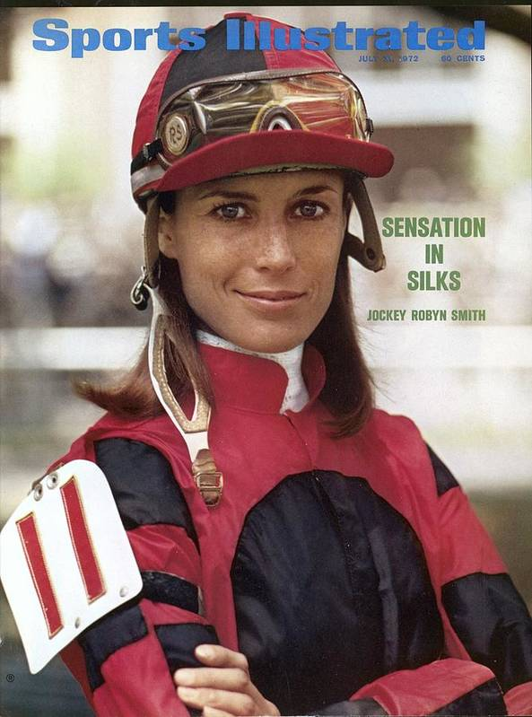 Horse Art Print featuring the photograph Robyn Smith, Horse Racing Jockey Sports Illustrated Cover by Sports Illustrated
