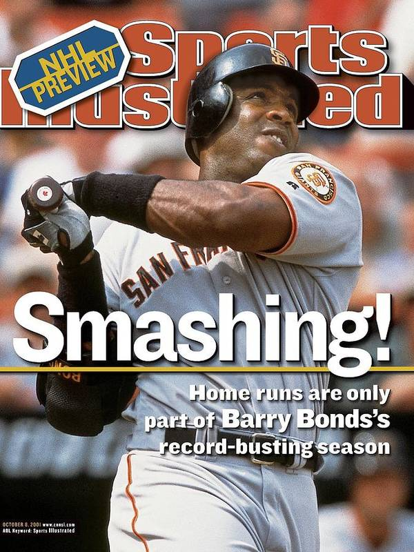 Magazine Cover Art Print featuring the photograph San Francisco Giants Barry Bonds... Sports Illustrated Cover by Sports Illustrated
