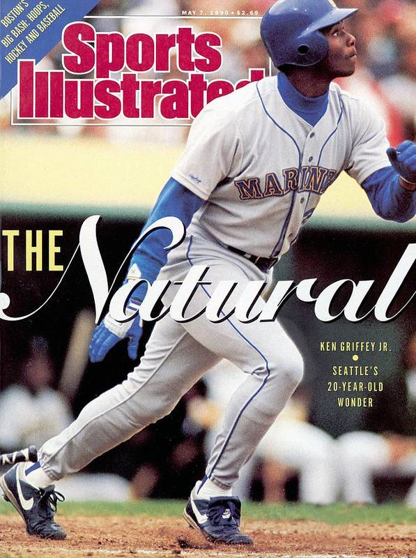 Magazine Cover Art Print featuring the photograph Seattle Mariners Ken Griffey Jr... Sports Illustrated Cover by Sports Illustrated