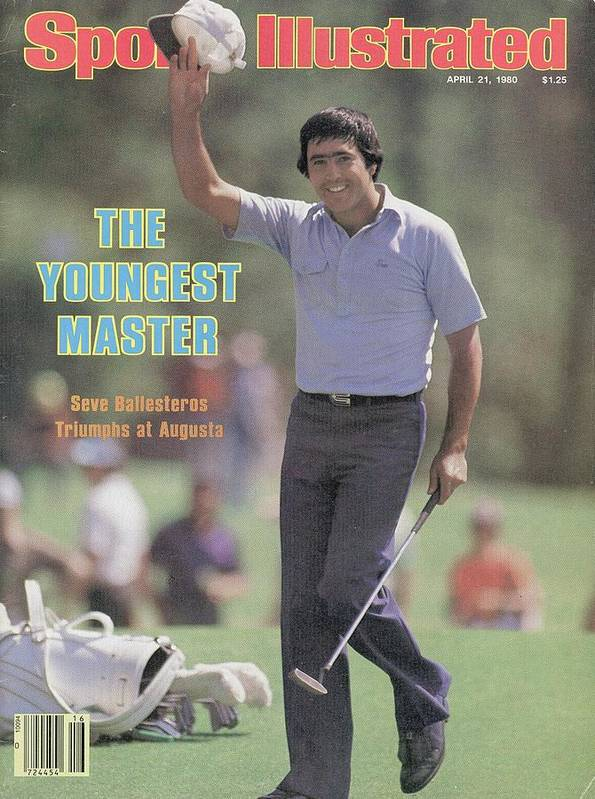 Magazine Cover Art Print featuring the photograph Seve Ballesteros, 1980 Masters Sports Illustrated Cover by Sports Illustrated
