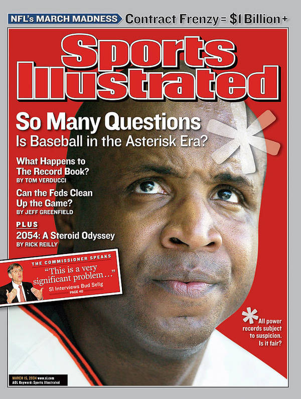 Magazine Cover Art Print featuring the photograph So Many Questions Is Baseball In The Asterisk Era What Sports Illustrated Cover by Sports Illustrated
