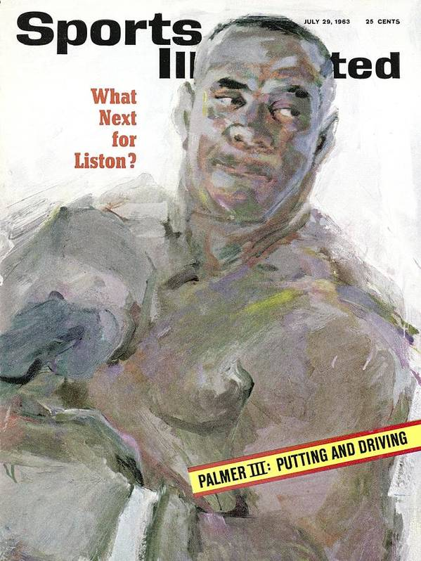 Magazine Cover Art Print featuring the photograph Sonny Liston, Heavyweight Boxing Champion Sports Illustrated Cover by Sports Illustrated