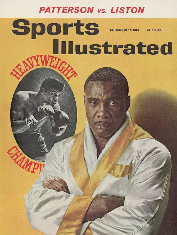 Magazine Cover Art Print featuring the photograph Sonny Liston, Heavyweight Boxing Sports Illustrated Cover by Sports Illustrated