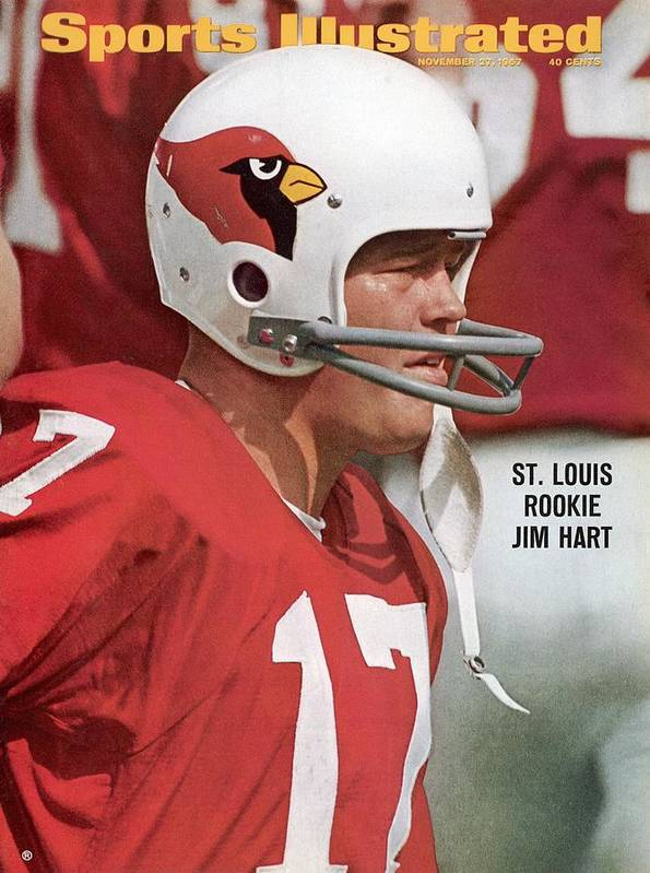 St. Louis Cardinals Art Print featuring the photograph St. Louis Cardinals Jim Hart Sports Illustrated Cover by Sports Illustrated