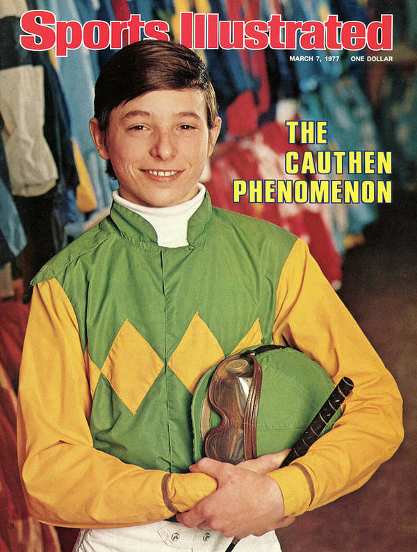 Horse Art Print featuring the photograph Steve Cauthen, Horse Racing Jockey Sports Illustrated Cover by Sports Illustrated