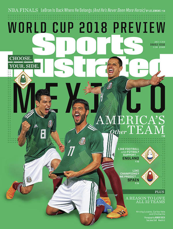 Championship Art Print featuring the photograph Team Mexico, World Cup 2018 Preview Sports Illustrated Cover by Sports Illustrated