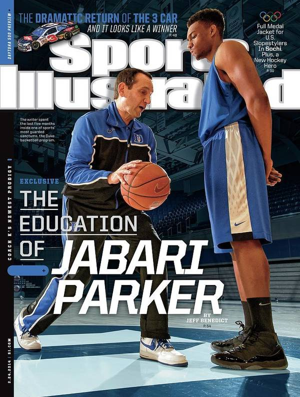 Magazine Cover Art Print featuring the photograph The Education Of Jabari Parker Sports Illustrated Cover by Sports Illustrated