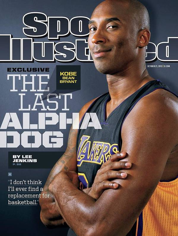 Magazine Cover Art Print featuring the photograph The Last Alpha Dog Sports Illustrated Cover by Sports Illustrated