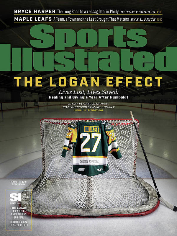 Magazine Cover Art Print featuring the photograph The Logan Effect. Lives Lost, Lives Saved Healing And Sports Illustrated Cover by Sports Illustrated