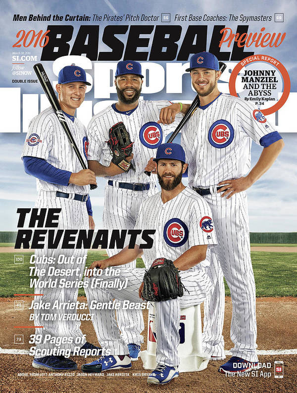 Magazine Cover Art Print featuring the photograph The Revenants, 2016 Mlb Baseball Preview Issue Sports Illustrated Cover by Sports Illustrated