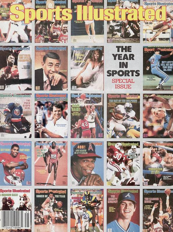1980-1989 Art Print featuring the photograph The Year In Sports Issue... Sports Illustrated Cover by Sports Illustrated