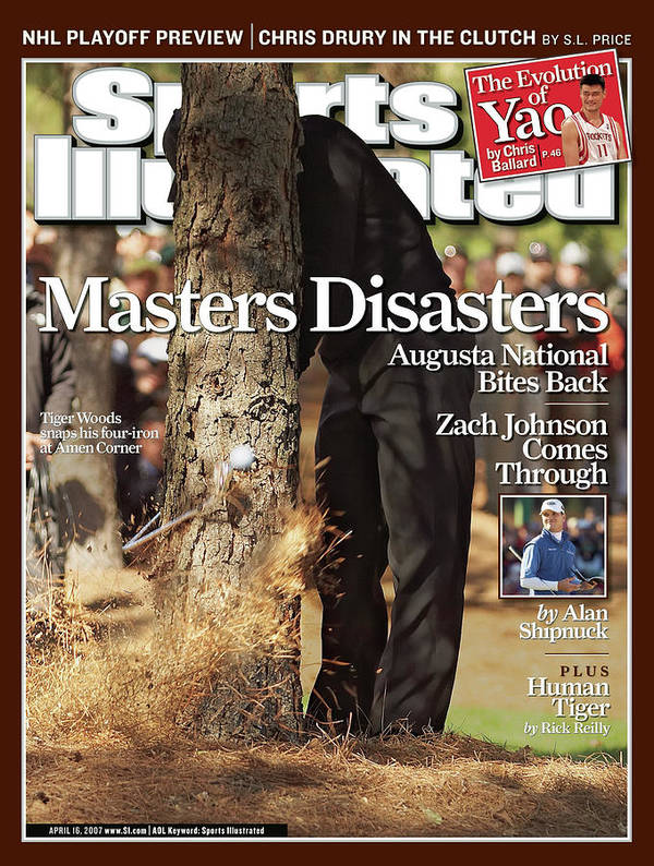 Magazine Cover Art Print featuring the photograph Tiger Woods, 2007 Masters Sports Illustrated Cover by Sports Illustrated