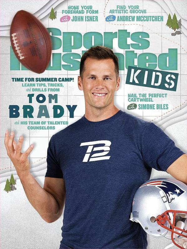 People Art Print featuring the photograph Tom Brady Sports Illustrated Cover by Sports Illustrated