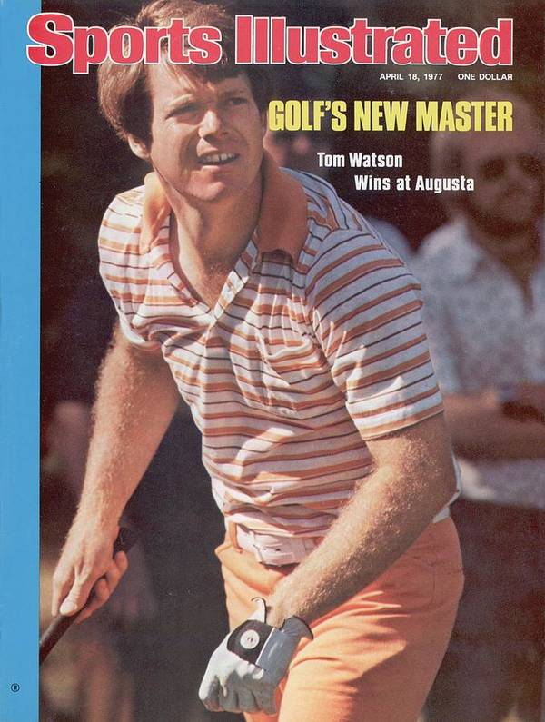 Magazine Cover Art Print featuring the photograph Tom Watson, 1977 Masters Sports Illustrated Cover by Sports Illustrated