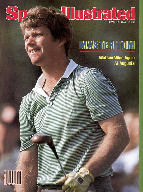 Magazine Cover Art Print featuring the photograph Tom Watson, 1981 Masters Sports Illustrated Cover by Sports Illustrated