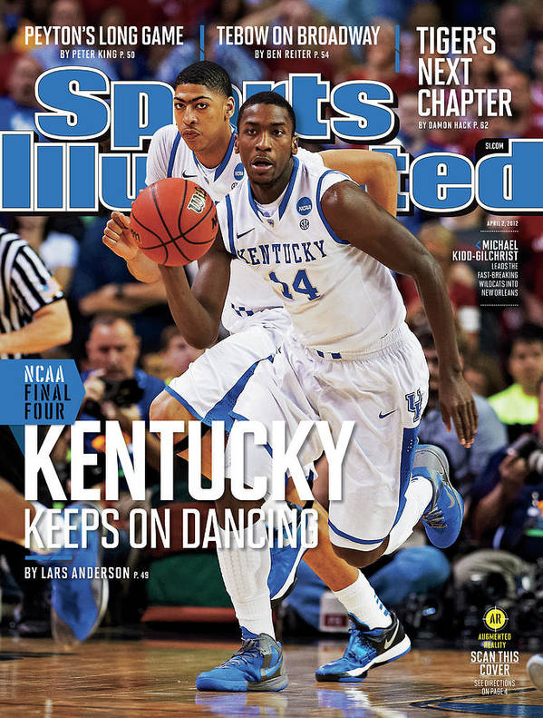 Atlanta Art Print featuring the photograph University Of Kentucky Michael Kidd-gilchrist, 2012 Ncaa Sports Illustrated Cover by Sports Illustrated