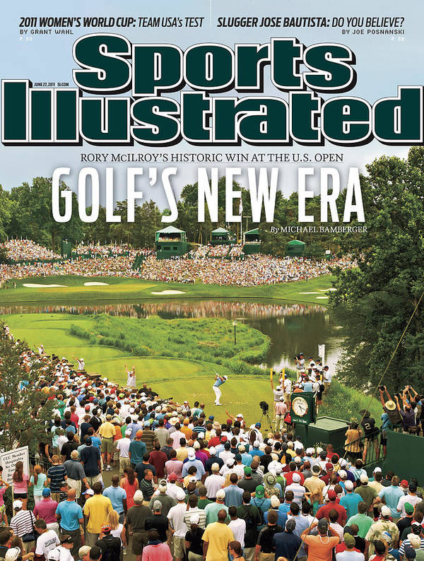 Bethesda Art Print featuring the photograph U.s. Open - Final Round Sports Illustrated Cover by Sports Illustrated