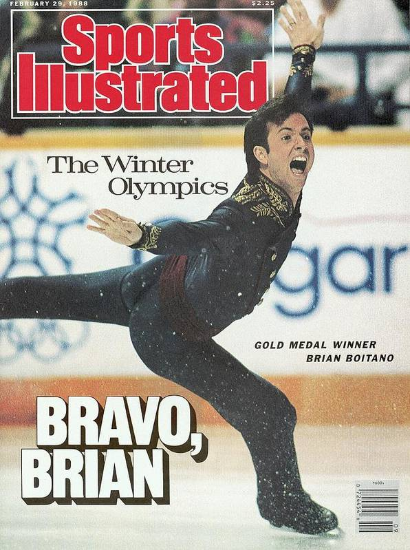 Event Art Print featuring the photograph Usa Brian Boitano, 1988 Winter Olympics Sports Illustrated Cover by Sports Illustrated