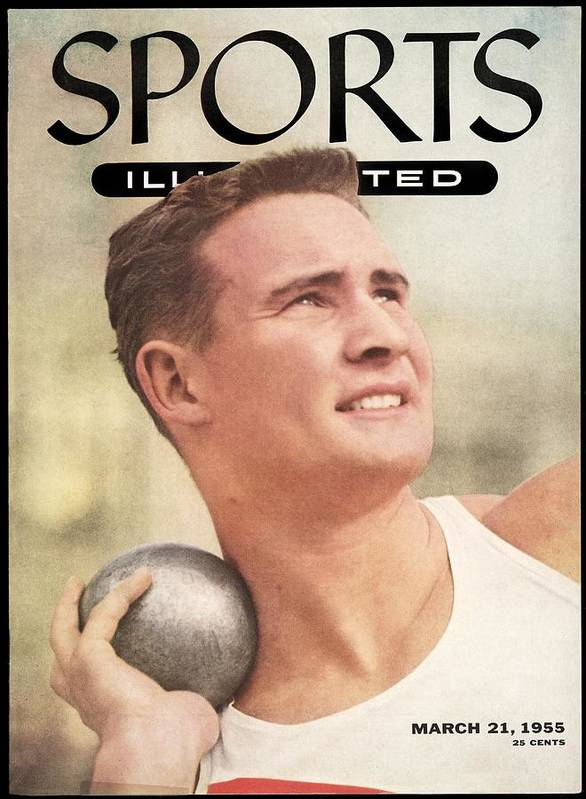 Event Art Print featuring the photograph W. Parry Obrien, Track & Field Sports Illustrated Cover by Sports Illustrated