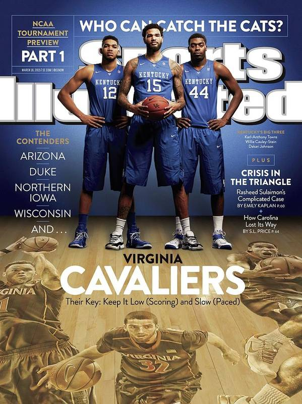 Magazine Cover Art Print featuring the photograph Who Can Catch The Cats Virginia Cavaliers, Their Key Keep Sports Illustrated Cover by Sports Illustrated